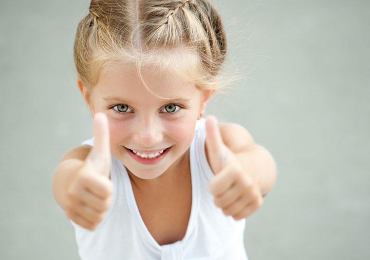 kids thumbs up dental clinic dubai