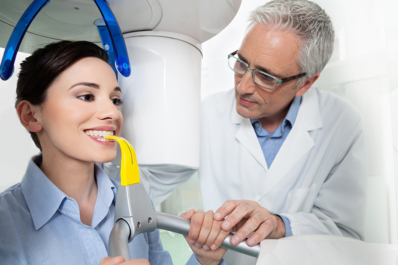 Dental X-rays or a Scan